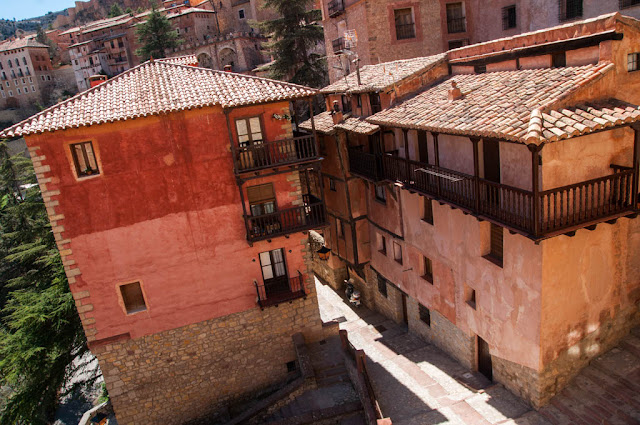 casas colgadas Albarracín