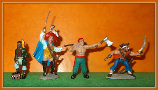 40mm Pirates; African Pirate; Factory Painted Pirates; Fontanini Pirates; French Pirates; French Toys; International Talk Like A Pirate Day; Italian Piartes; Italian Toys; ITLAPD Talk Like A Pirate; Made In France; Made In Italy; Plastoy France; Plastoy Pirates; PVC Figurines; Small Scale World; smallscaleworld.blogspot.com;