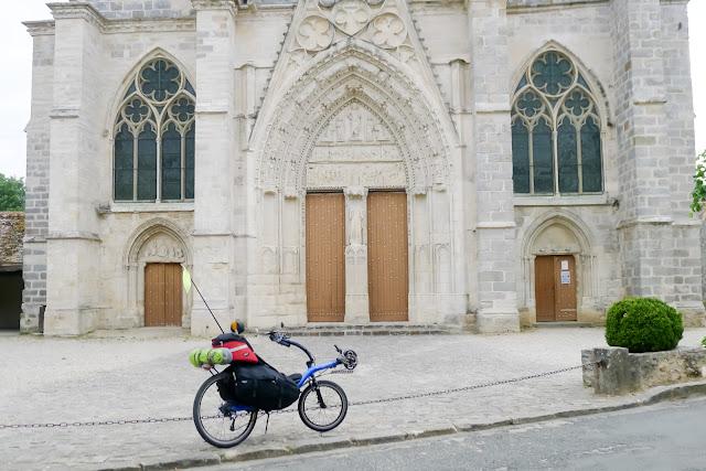 De Paris à Angers par la Loire à vélo, St Sulpice de Favières