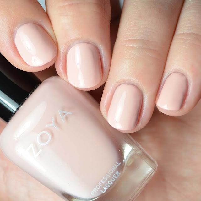 peach creme nail polish