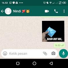 cara pasang stiker di whatsapp pakai foto sendiri