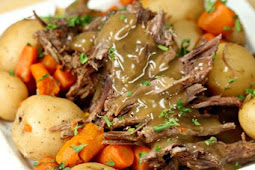 The Best Crock pot Roast