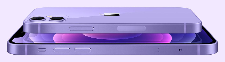 Mor iPhone 12 ve iPhone 12 mini