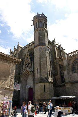 Facciata della Basilica di Saint Nazaire