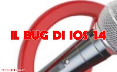 Il bug di iOS 14
