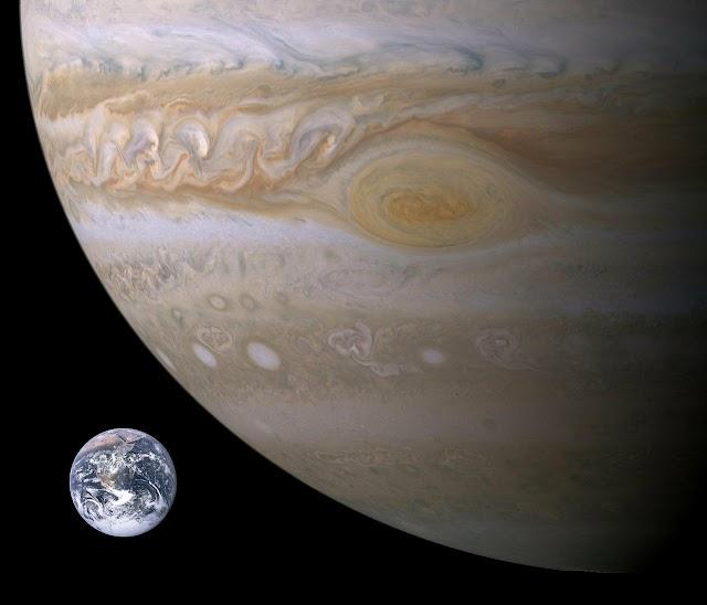 SAINTIS NASA TERKEJUT APABILA MENDAPATI 'TITIK MERAH BESAR' JUPITER BERPUSAR SEMAKIN CEPAT.