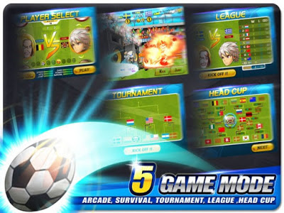 Download Head Soccer MOD APK v6.0.0 Full Hack Unlimited Money Update Terbaru 2017 Gratis