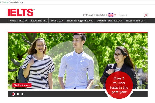 Web luyện IELTS IELTS org