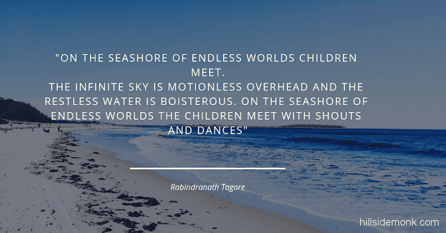 Rabindranath Tagore Poems 8  On the Seashore