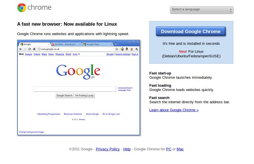 www.AnythingIWannaWrite.com: How to: Install Google Chrome ...