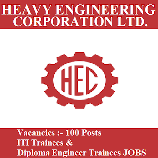 Heavy Engineering Corporation, HECL, freejobalert, Sarkari Naukri, HECL Admit Card, Admit Card, hecl logo