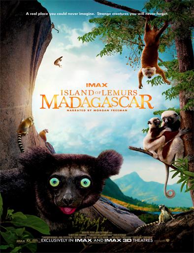 pelicula Madagascar: La isla de los lémures (2014)