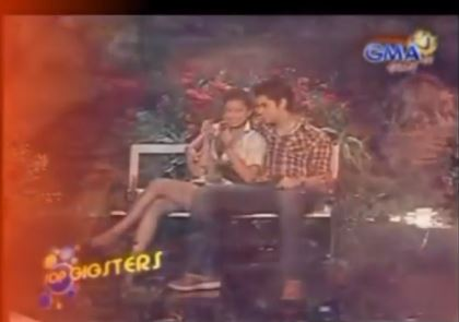 THROWBACK: Angel and Richard's Prod In SOP Gigsters!