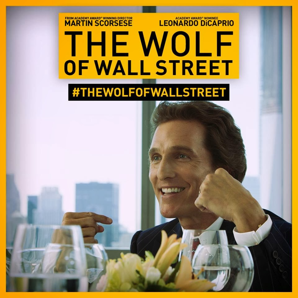 the wolf of wall street matthew mcconaughey