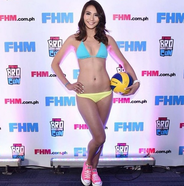 Rachel Anne Daquis FHM Victory Party