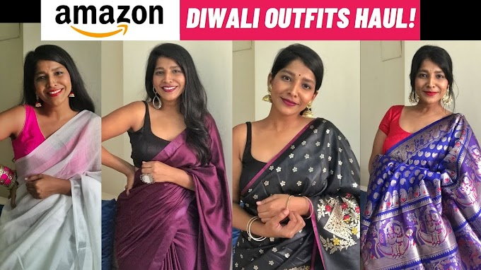 LAST MINUTE DIWALI OUTFITS From AMAZON Under 1100 (2020)