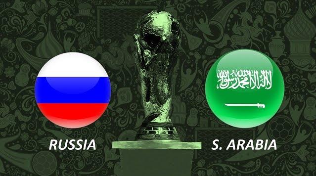 Mondiali 2018: Russia-Arabia Saudita Streaming Rojadirecta e Diretta TV su Canale 5