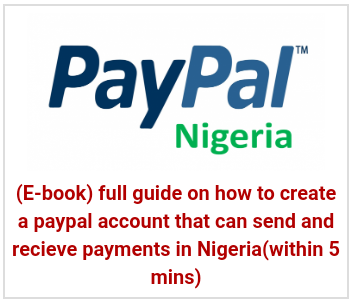 paypal in nigeria 2020 - %100 working method to recieve payment