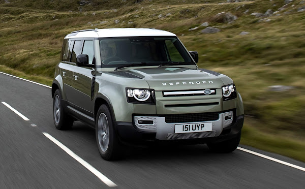 Land Rover Defender FCEV - Hidrogênio