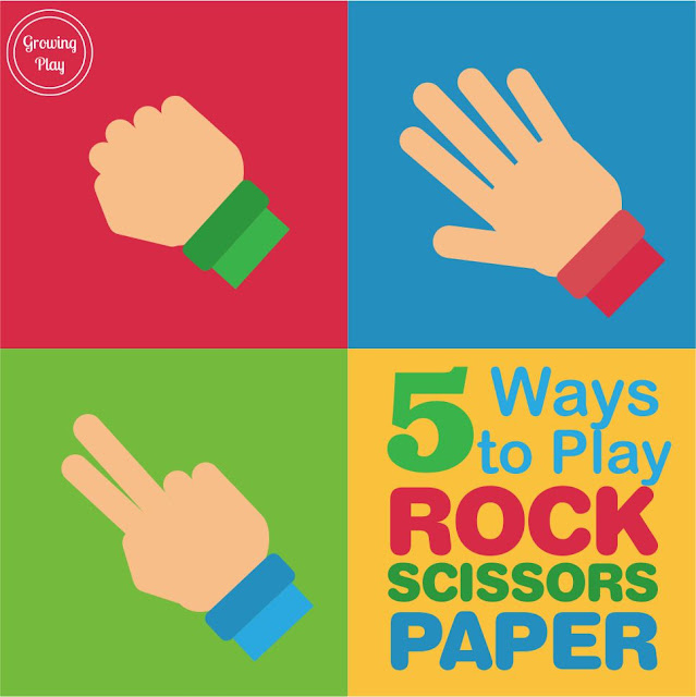 growing play 5 ways to play rock paper scissors. Black Bedroom Furniture Sets. Home Design Ideas