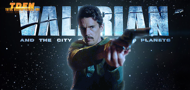 Ethan Hawke In Filmul SF-ul Valérian And The City Of A Thousand Planets