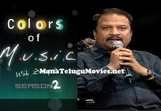 R P Patnaik in Colors Of Music – Season 2