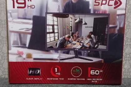 Review Pemakaian Monitor SPC 19 Inchi Selama 1 Tahun Lebih