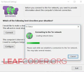 Connect TOR Browser