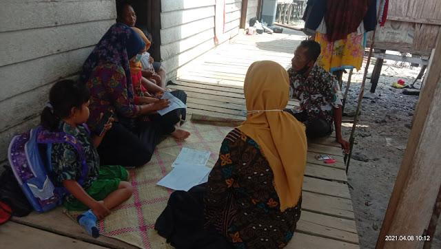 Dinas P3AP2KB Kabupaten Natuna Gelar Pendataan Keluarga Tahun 2021