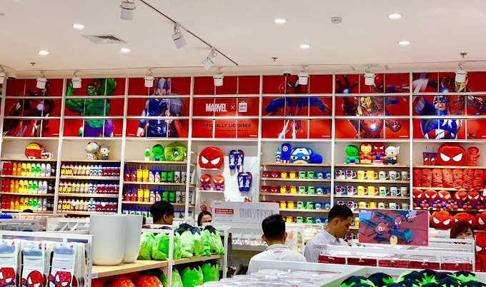 Where to find Marvel x Miniso complete collection?
