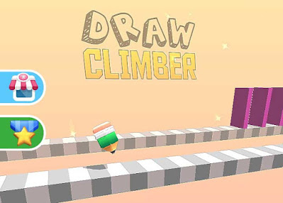 Draw Climber, game penghilang stress