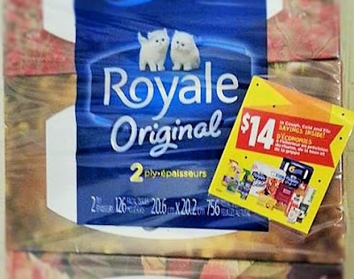 Royale Coupon Savings Booklet - On Package Coupons