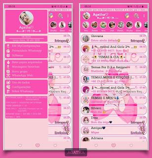 Marie Rosa Theme For YOWhatsApp & Fouad WhatsApp By Agatha