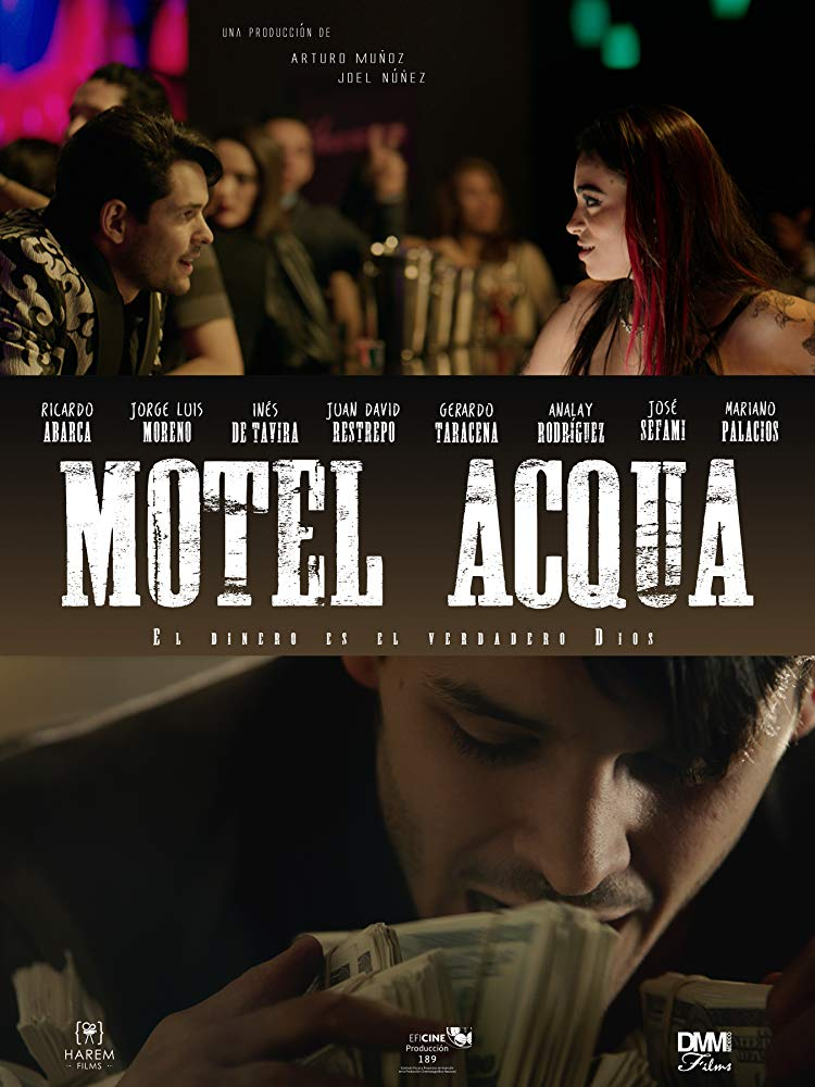Motel Acqua 2018 HD 1080p Español Latino poster box cover