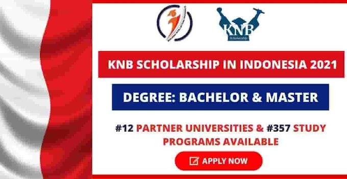 Kemitraan Negara Berkembang (KNB) Scholarship for Master & PhD degrees in Indonesia (Fully-Funded)