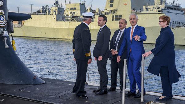 [VIDEOS] Affaire des sous-marins : le porte-parole du ministère des Armées hausse le ton contre l'Australie