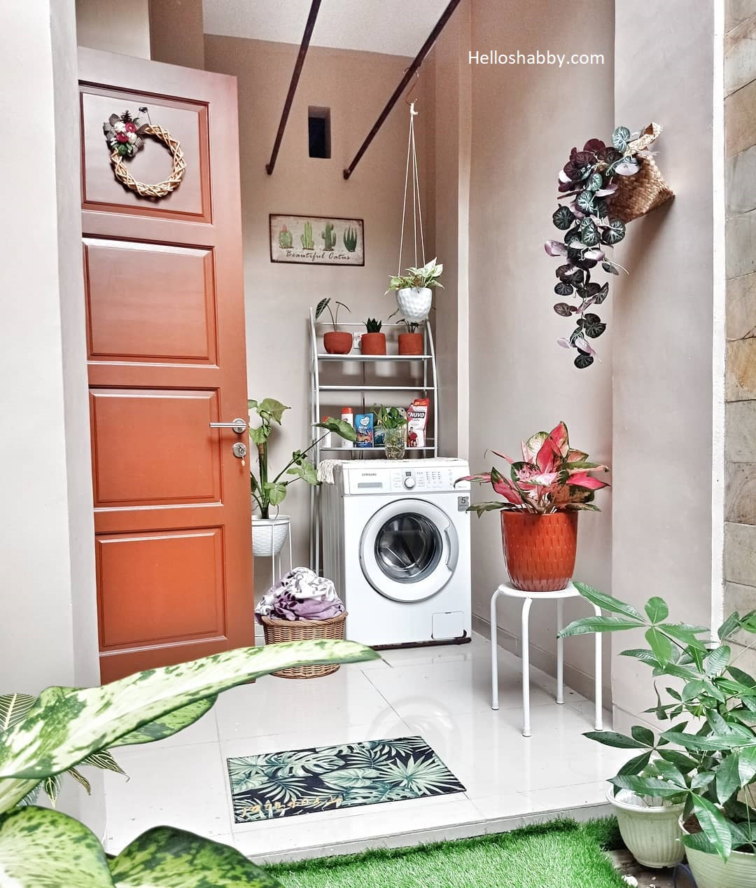 Ide Ruang Cuci Minimalis di Lahan Sempit