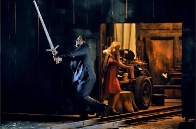 Christopher Ventris (Siegmund), Camilla Nylund (Sieglinde) - Wagner: Die Walküre - Bayreuth Festival (©Bayreuther Festspiele / Enrico Nawrath)