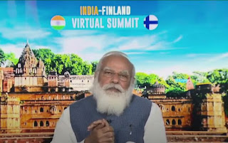 India-Finland Virtual Summit