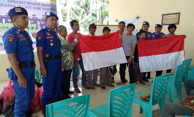 Cegah DF Sat Polair Selayar, Laksanakan Program Sambang Nusa Di Pulau Pasi