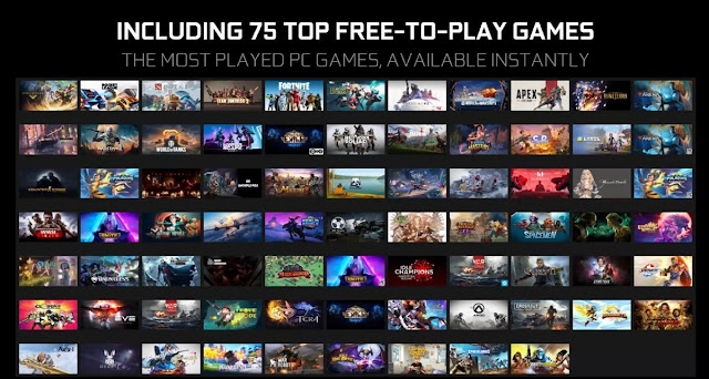 1500+ Games In Nvidia Geforce Now