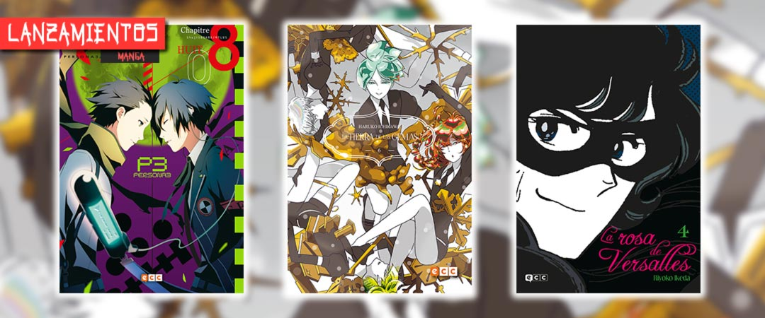 Novedades ECC Ediciones noviembre 2020 - manga