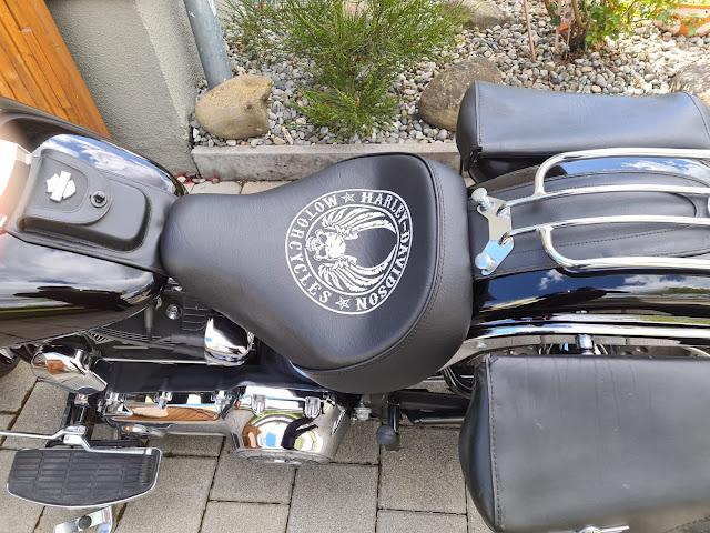 Neugepolsterte Harley