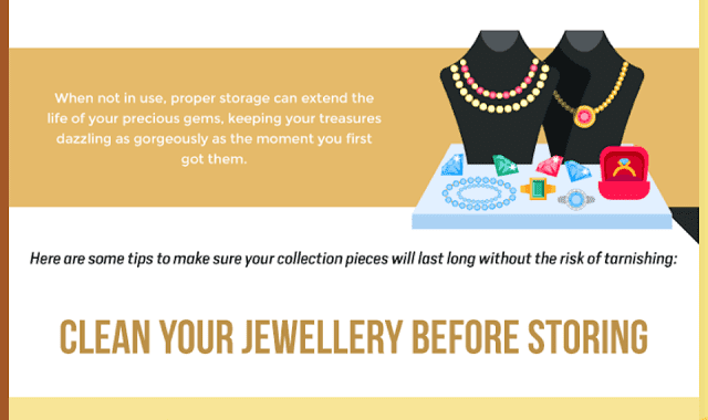 How To Store Your Jewellery Properly? #Infographic