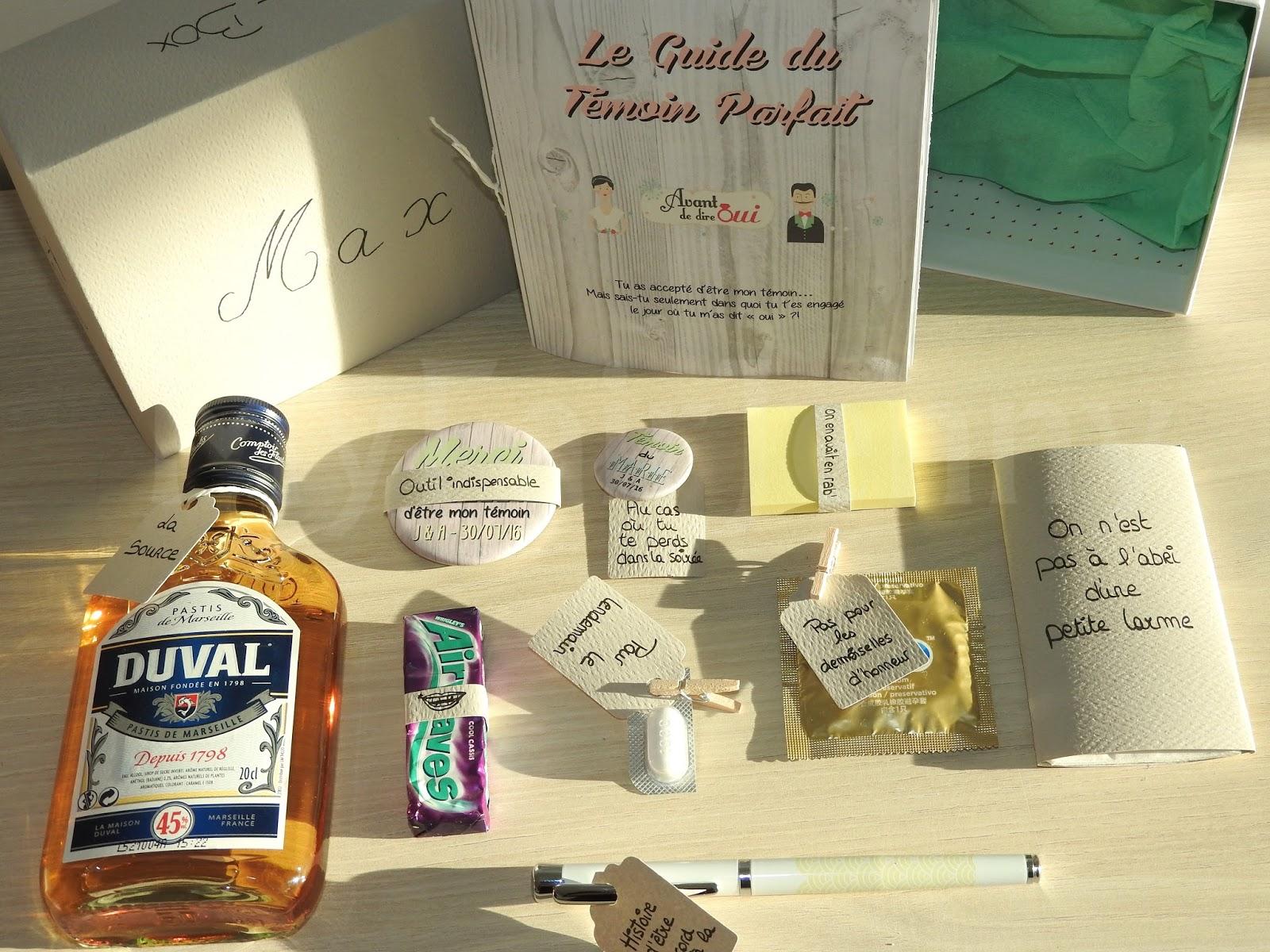 Super WEDDING] J-9 Mois   DIY : Nos Boîtes à Témoins - (BestMan Box  JZ39