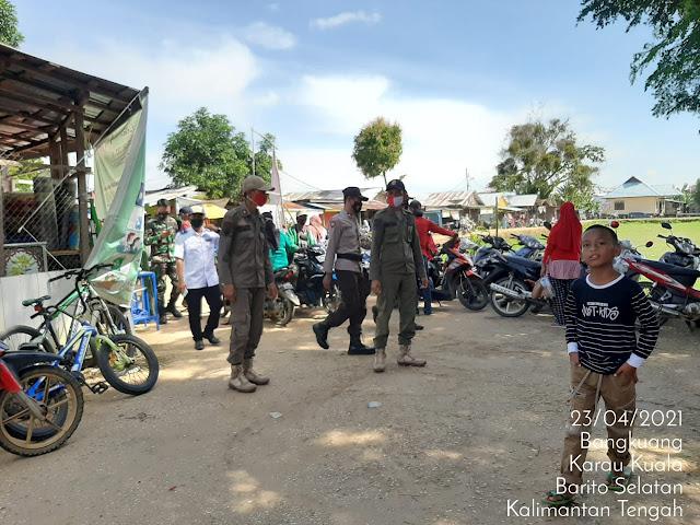 Wujudkan Wilayah Bebas Karhutla, Kanitreskrim Polsek Karau Kuala Gencarkan Sosialisasi