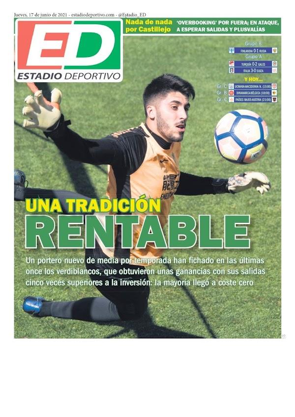 """Betis, Estadio Deportivo: """"Una tradición rentable"""""""