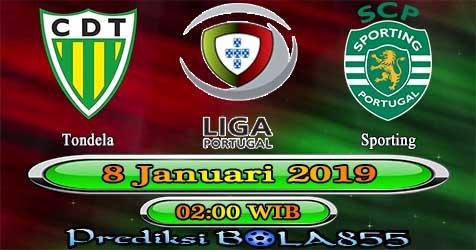 Prediksi Bola855 Tondela vs Sporting 8 Januari 2019