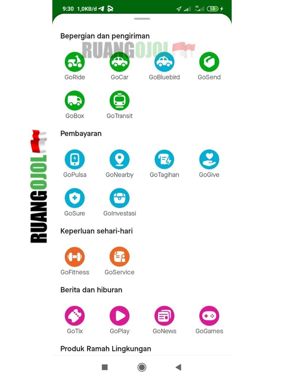 Cara Beli Token Listrik di Gojek Fitur Go-Tagihan Terbaru