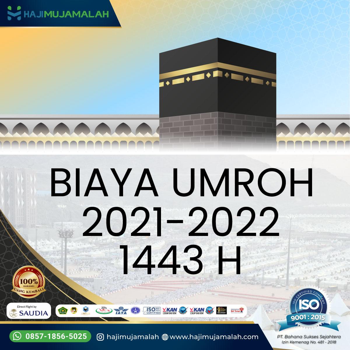 Biaya Paket Umroh 2021 2022 Promo Harga Murah